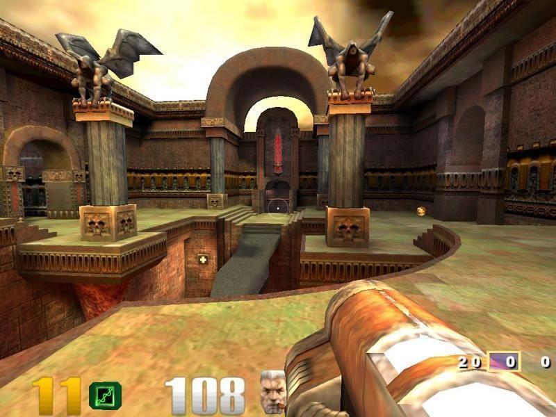 《雷神之鎚 3:競技場》遊戲畫面