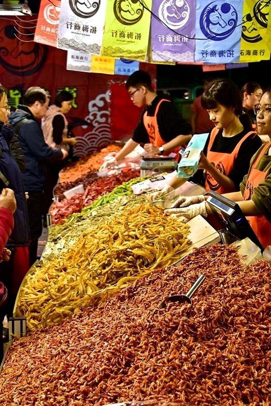 櫻花蝦等海味製品