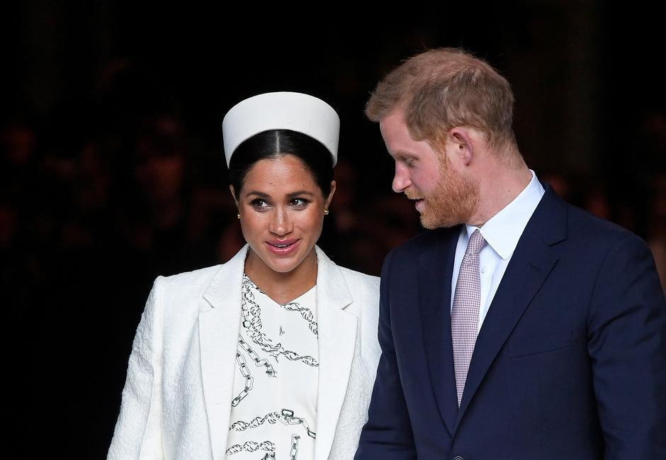 梅根與哈利王子是被英國媒體逼走的? 圖/路透資料照片