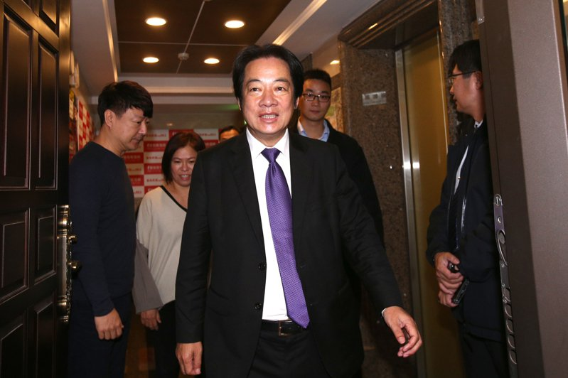 準副總統賴清德。 記者蘇健忠/攝影