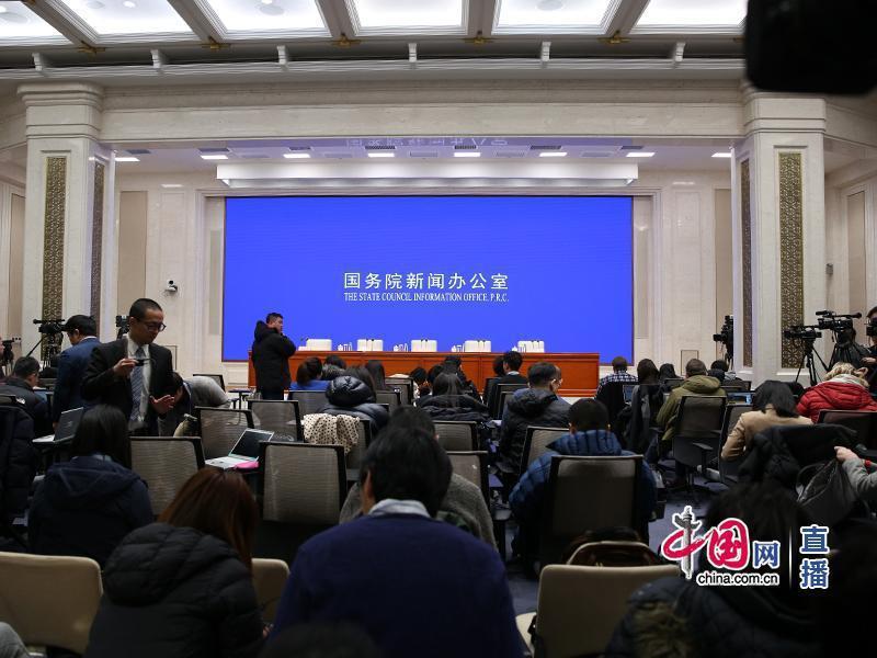 大陸國家衛健委上午舉行記者會。取自中國網