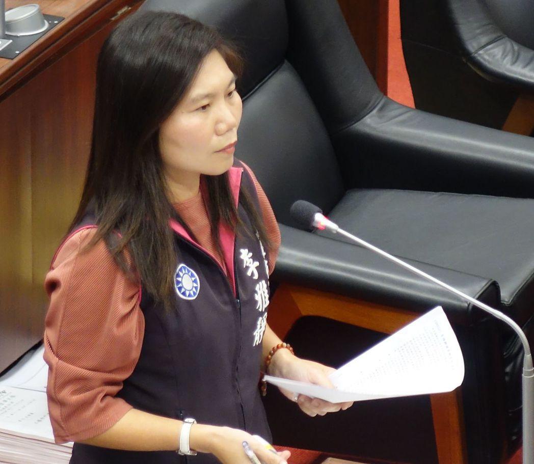 高雄市議員李雅靜因財產申報不實被監察院裁罰10萬元,她表示已經繳完罰款了。圖/本...