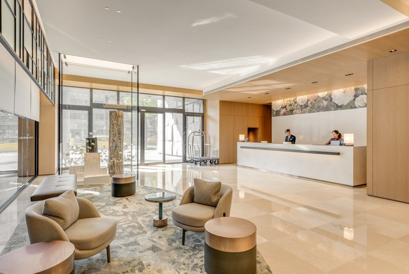 台北中山希爾頓逸林酒店,為希爾頓集團在台的據點之一。圖/台北中山希爾頓逸林酒店提供