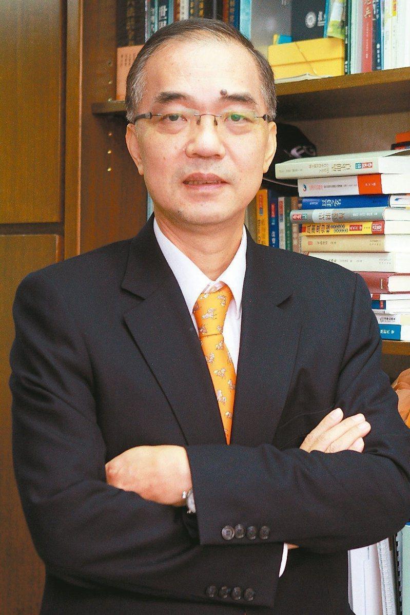 海基會前副董事長馬紹章。聯合報系資料照片