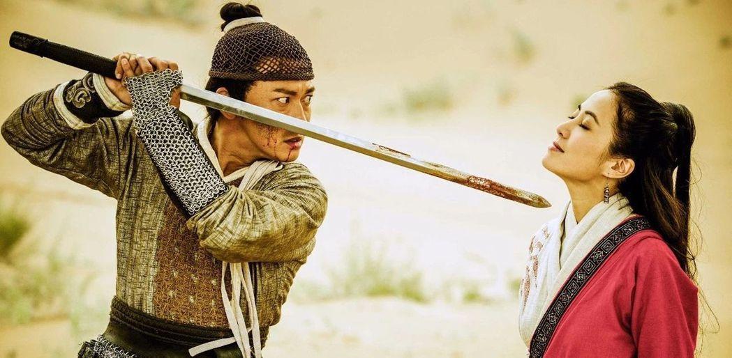 「龍門飛甲」由聶遠(左)、葉璇主演,2人在劇中將上演刻骨銘心的生死戀。圖/中天綜...