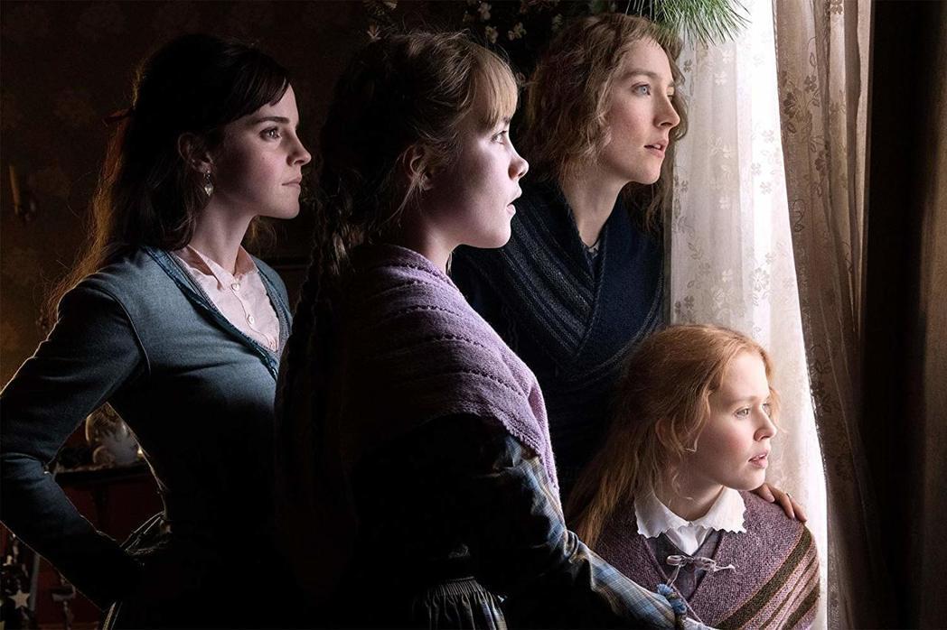 最新「小婦人」改編電影「她們」,是春節賀歲片中最有氣質的選擇。圖/索尼提供