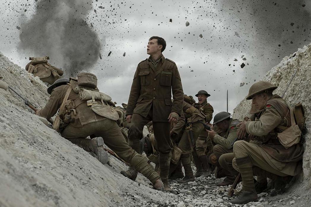 描述一次世界大戰的奧斯卡強片「1917」,初六起盛大上映。圖/UIP提供