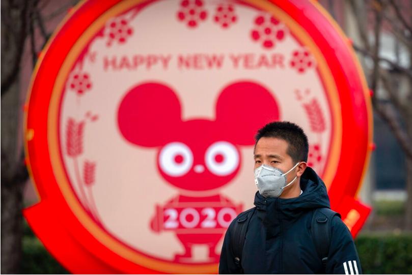 中國大陸新型冠狀病毒肺炎疫情持續爆發。 美聯社