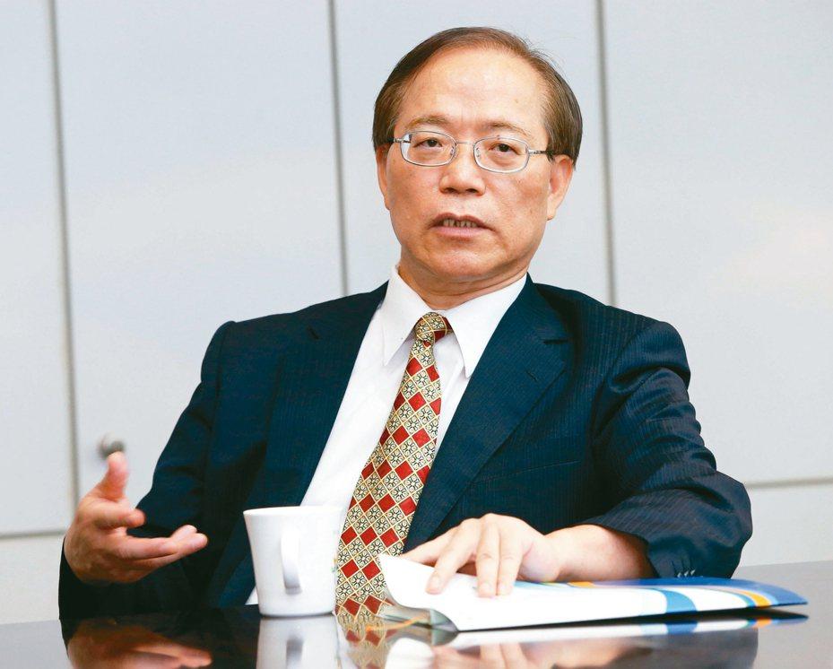 中華電信董事長謝繼茂 (聯合報系資料庫)