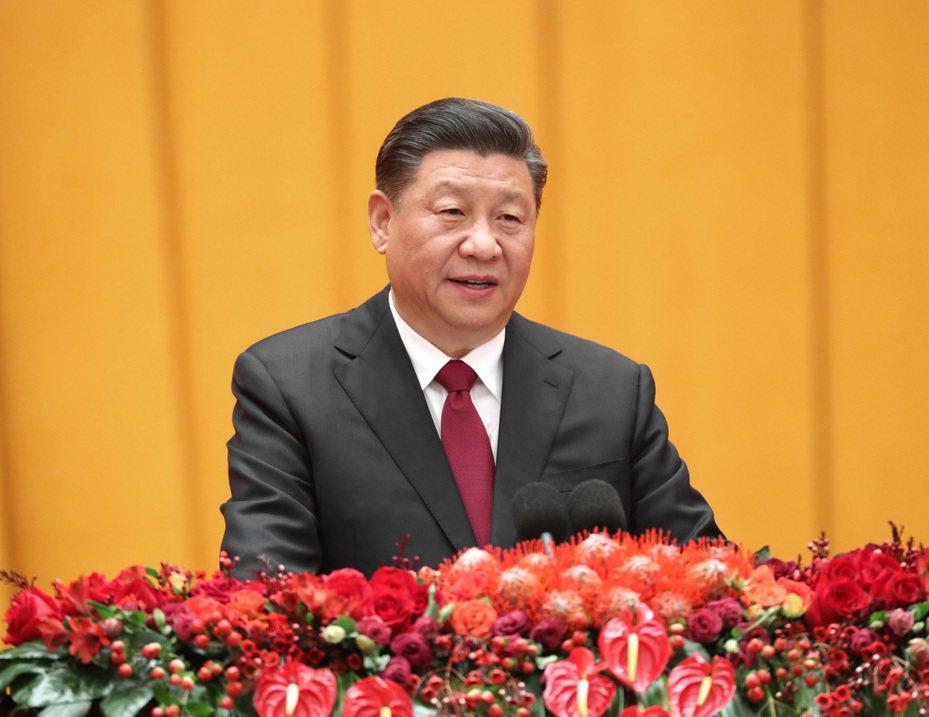 中共領導人習近平。 新華社