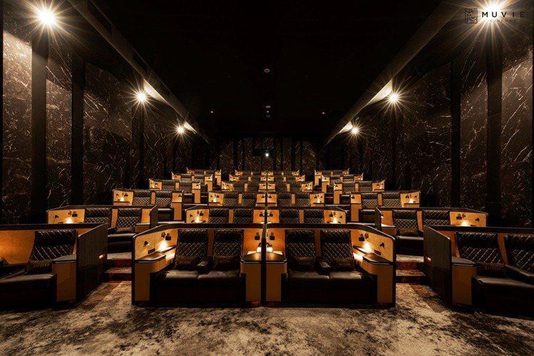 威秀影城打造頂級Mucrown影廳。圖/摘自威秀影城臉書粉絲團