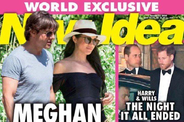英國哈利王子和妻子梅根被剝奪王室頭銜、退出英皇室高級成員的身分,接下來希望能夠自力更生,也不落人話柄。目前看來,情勢一片大好,各方都對梅根非常感興趣,八卦刊物更打出驚人的標題:梅根密會湯姆克魯斯,畫...