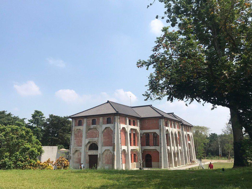去年10月開幕的山上花園水道博物館是全國面積最大的國定古蹟。圖/台南市觀光旅遊局...