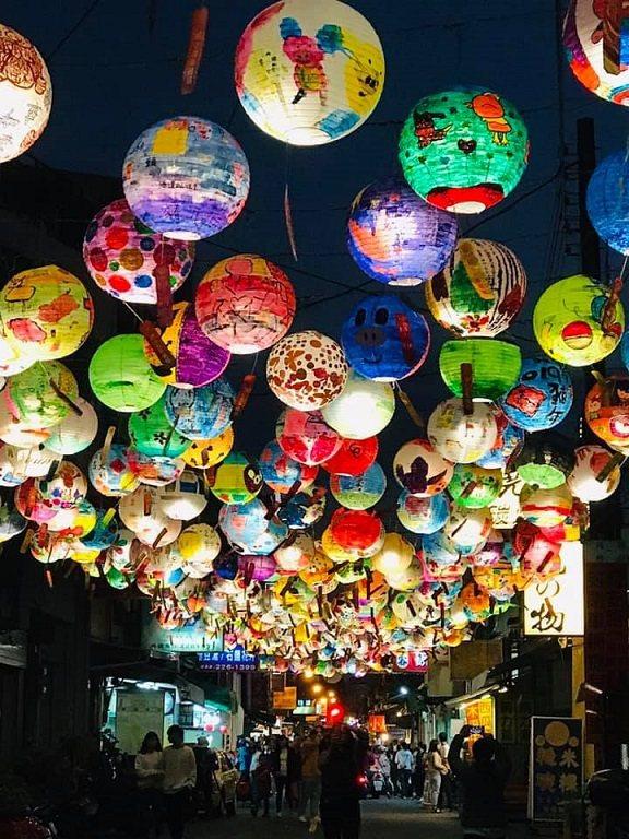 位在台南市中西區的普濟殿燈會是走春。圖/台南市觀光旅遊局提供