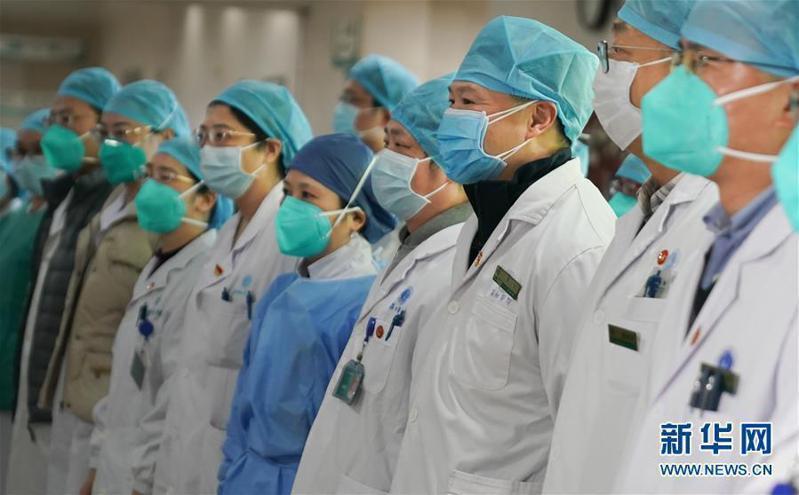 武漢肺炎確診571例 死亡17例。取自新華網