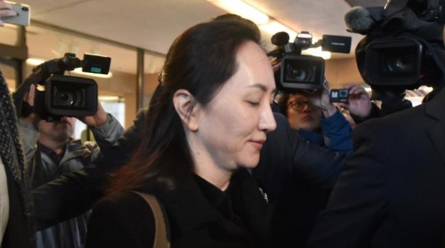 華為副董事長孟晚舟否認加拿大政府代表律師的所有指控。(法新社)