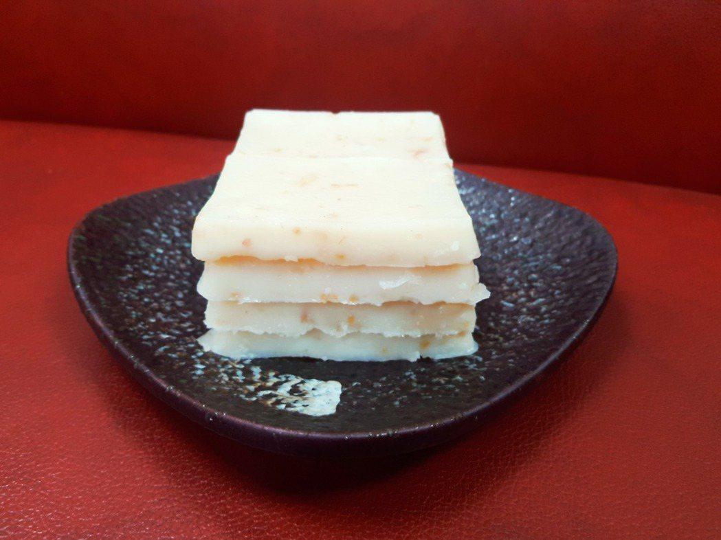 四片蘿蔔糕的含醣量與一平碗白飯一樣。圖/陳昭蓉提供