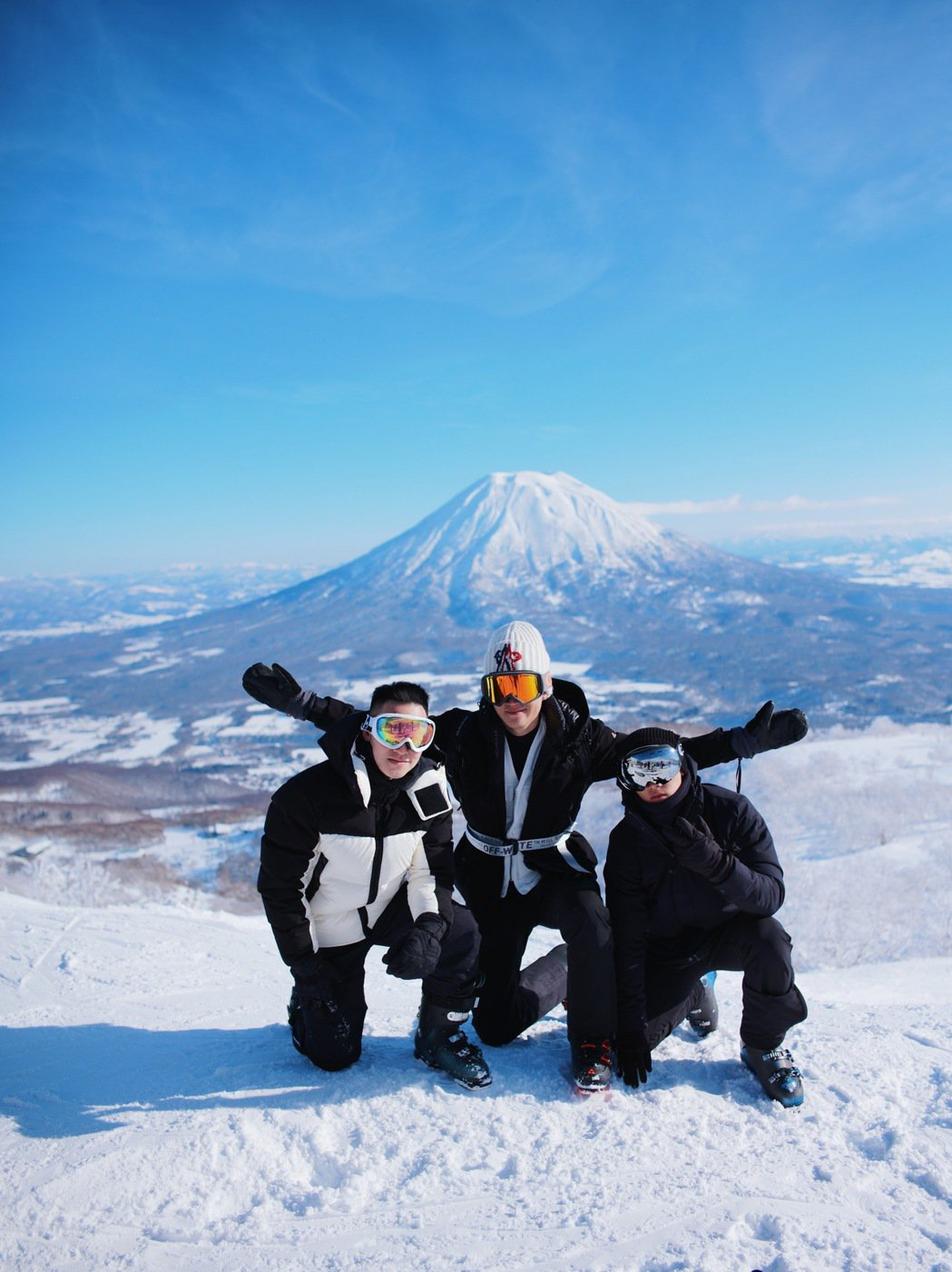 周興哲過年特別告假一周飛北海道。圖/星空飛騰提供