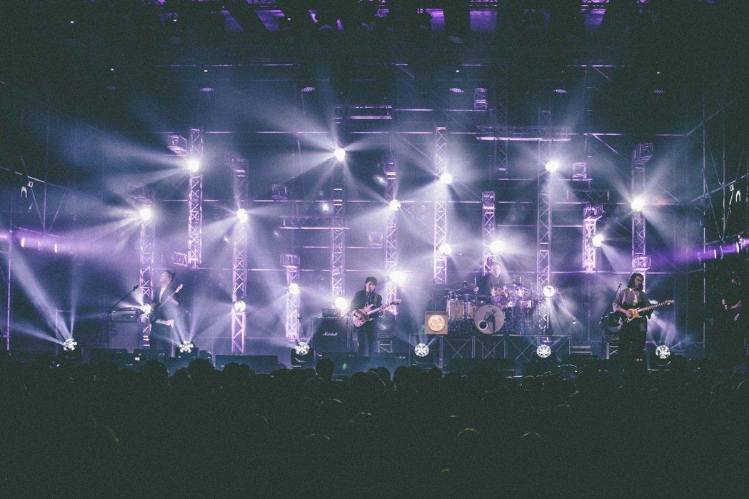 樂團先知瑪莉22日於台大體育館舉行演唱會。圖/華貴娛樂提供