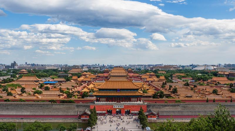 配合防疫需要,北京故宮博物院宣布,25日起閉館。(取自北京故宮博物院官網)