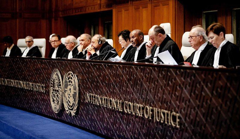 海牙國際法庭廿三日宣讀判決,下令緬甸必須立刻採取行動防止洛興雅人遭種族滅絕。 (歐新社)