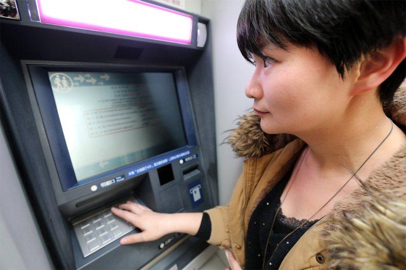 春節期間ATM服務不打烊。聯合報系資料照