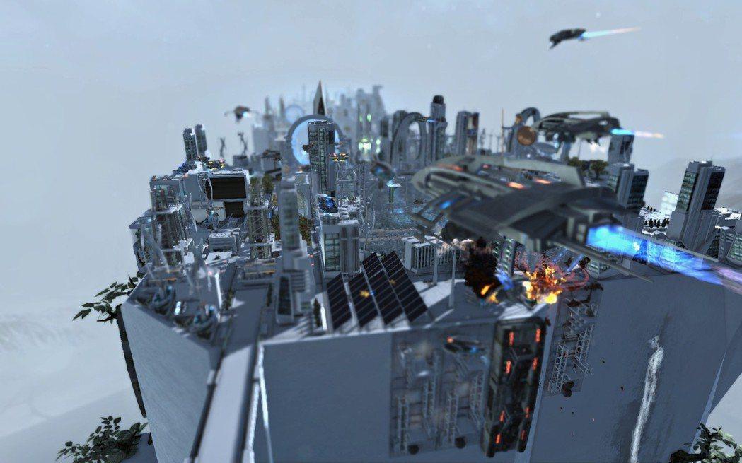 海盜三不五時就會來考驗玩家的都市防衛能力