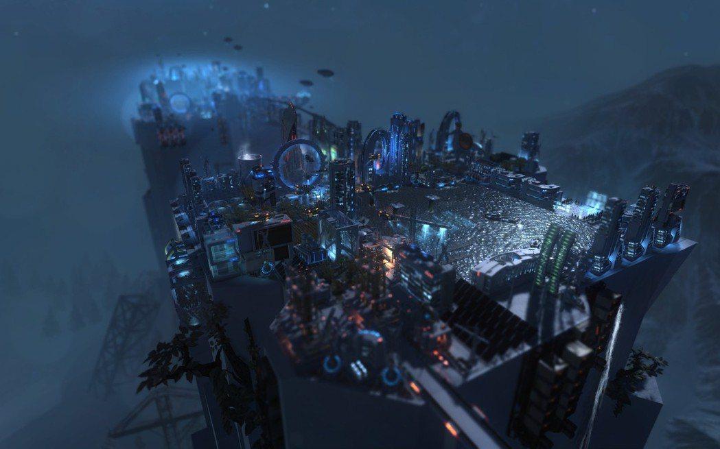 都市的光影相當夢幻