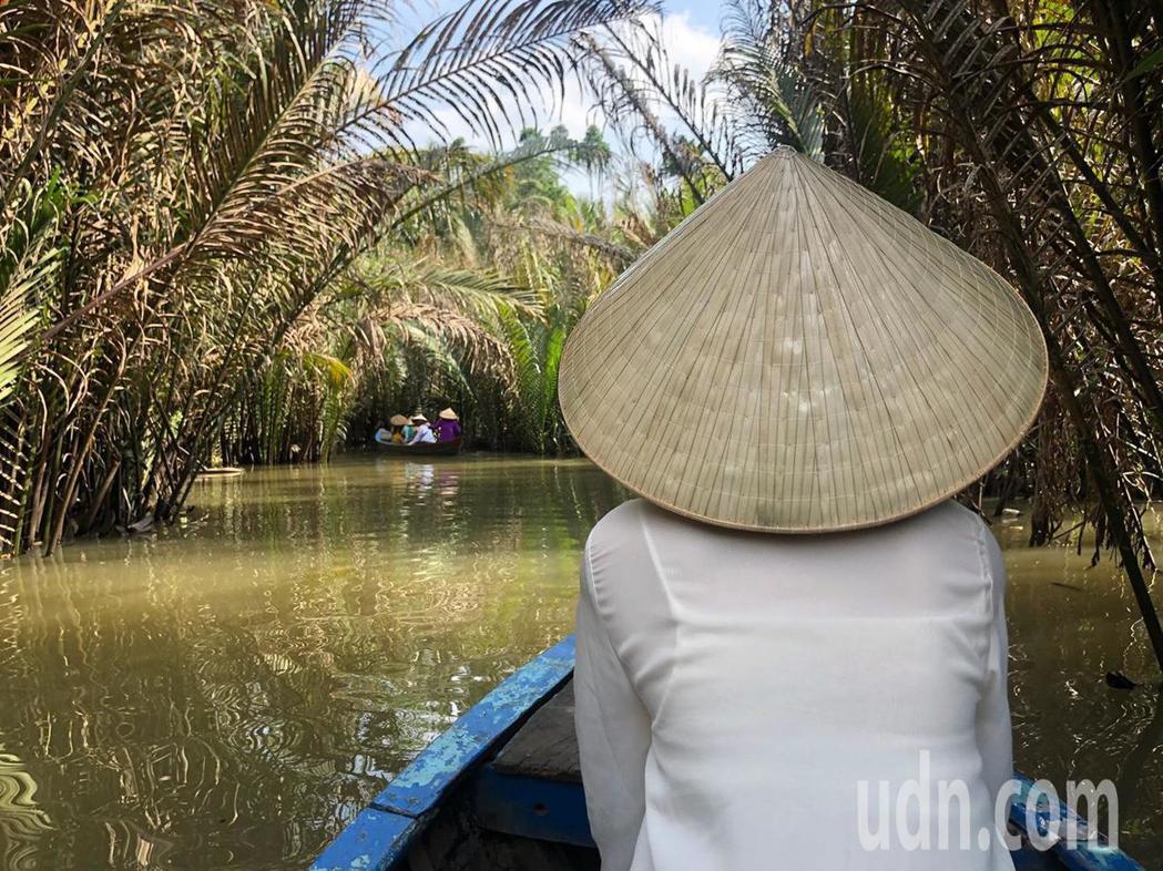 湄公河一日遊。記者曹悅華/攝影