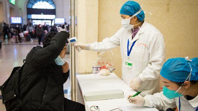 武漢肺炎疫情持續擴大,天津今天證實出現聚集性感染。圖/取自第一財經