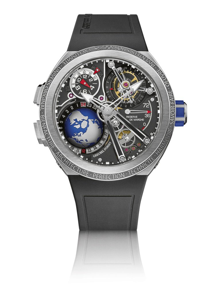 Greubel Forsey GMT運動款腕表,鈦金屬表殼,限量11只,約1,7...