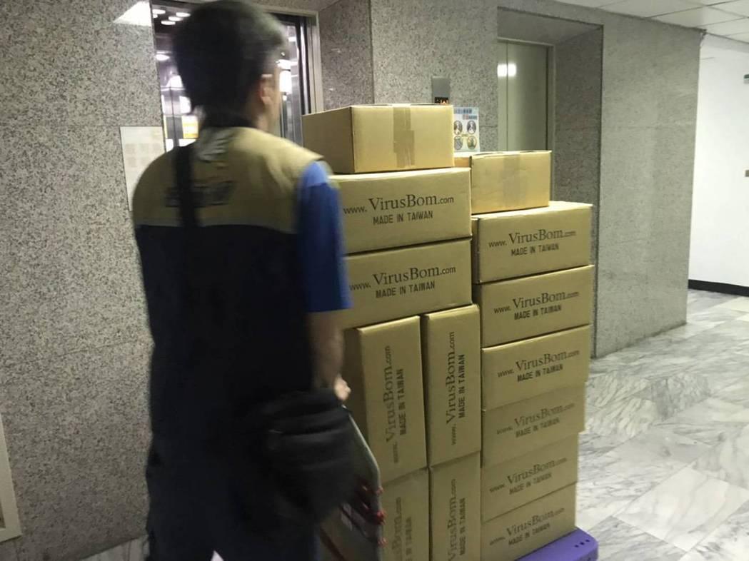 知名防疫消毒藥水在過年前庫存已被搬空。