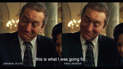 靠著視覺特效的進步,76歲老牌演員勞勃狄尼洛(Robert De Niro)在電影「愛爾蘭人」當中,詮釋20幾歲一直到60幾歲的角色,不但親自演出,而且沒有穿戴多餘的裝置。「洛杉磯時報」(Los A...