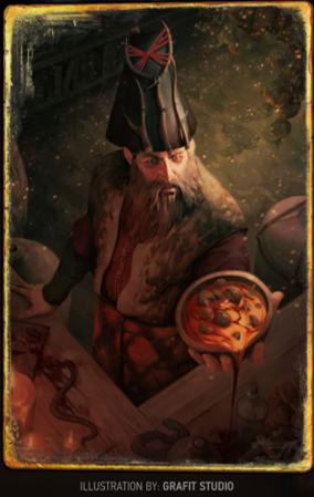 「米須維爾」卡牌,在《巫師3:狂獵》的名字為爾米亞