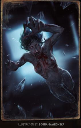 「吸血女妖」卡牌