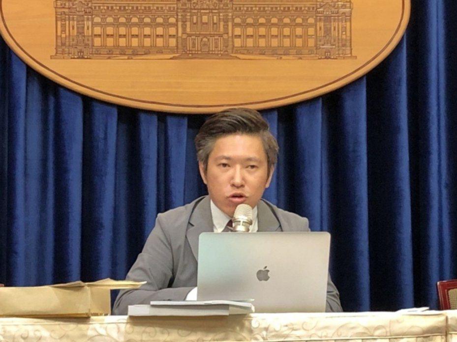總統府發言人張惇涵。圖/本報資料照片