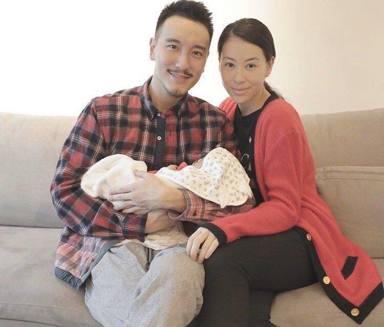 王陽明、蔡詩芸與女兒共同入鏡。圖/摘自IG