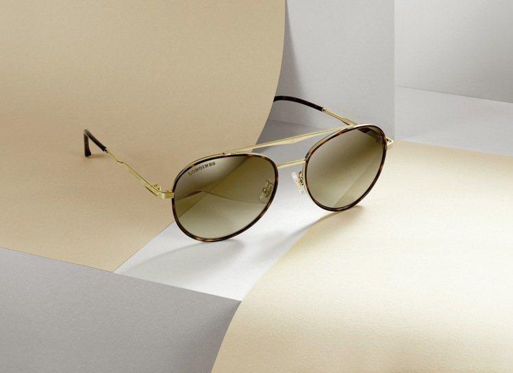 浪琴表男款太陽眼鏡16,100元。圖/Longines提供