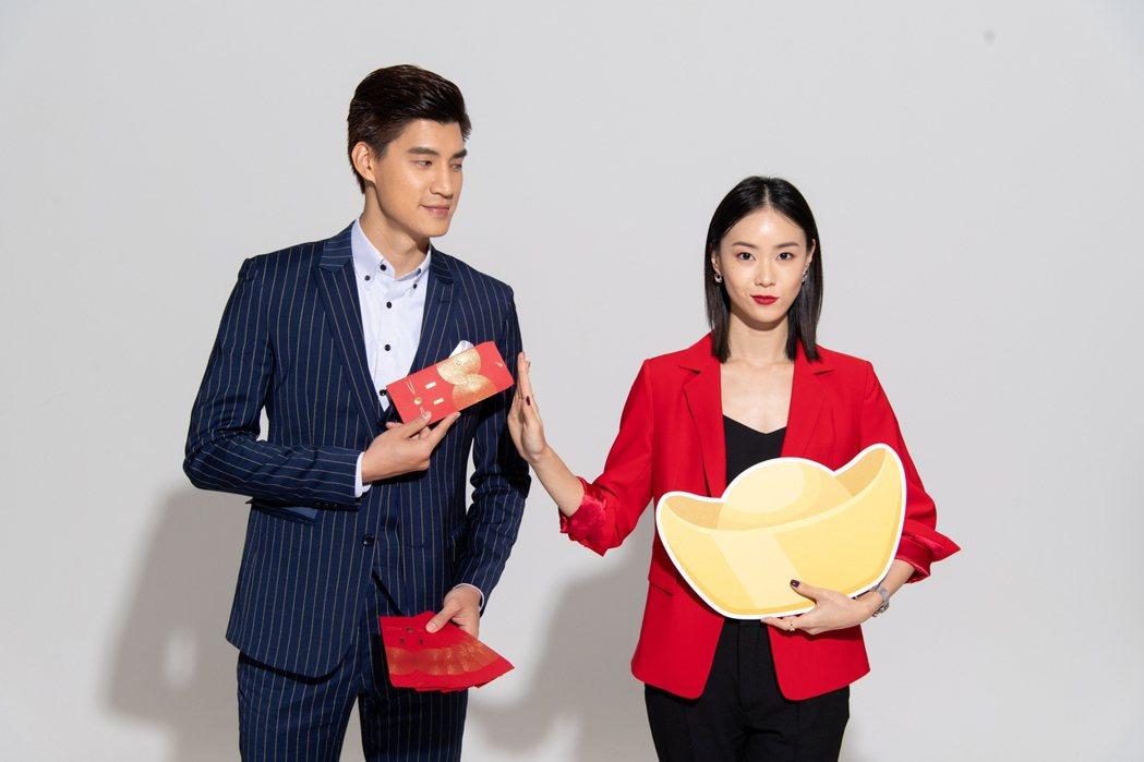 羅宏正(左)和鍾瑶今年難得有三天年假  圖/三立提供