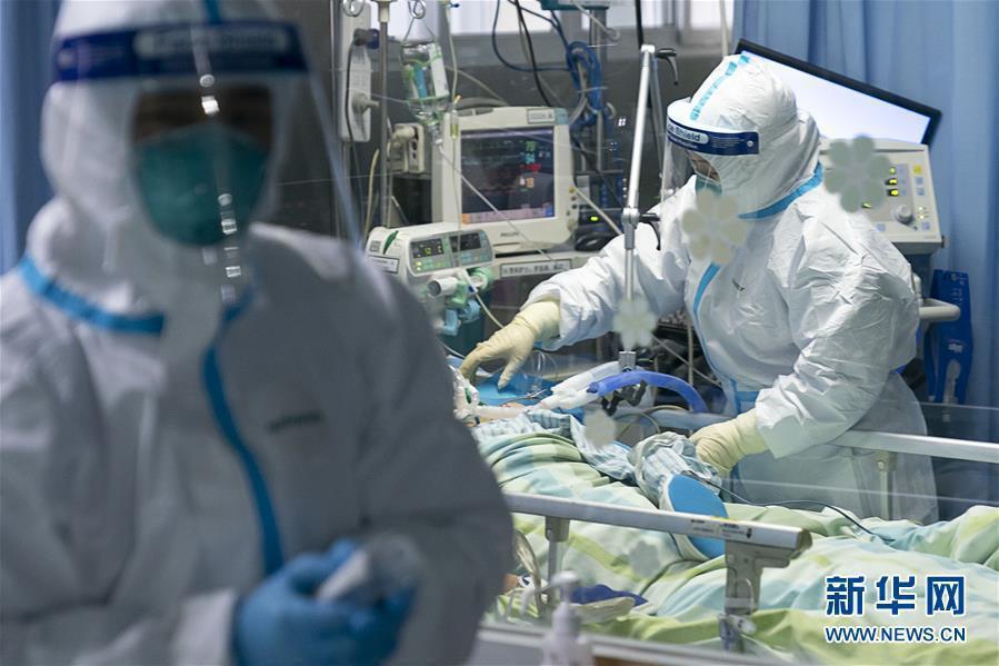 武漢市長周先旺稱,該市確診病例還會增加1000例。(取自新華網)