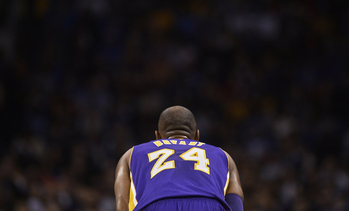 永遠的黑曼巴——Kobe Bryant。 圖/歐新社