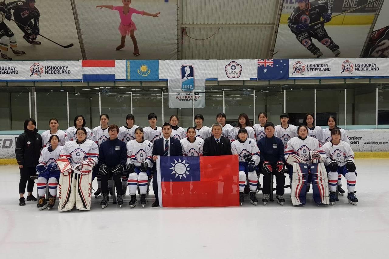 冰球/黃金驟死賽擊敗哈薩克 U18中華青女隊史上首度升上一級差一勝