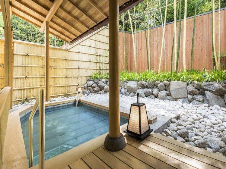 翠嵐豪華精選酒店,可以欣賞嵐山四季不同的風景。圖/京都市台灣推廣事務所提供
