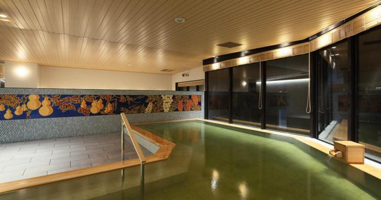 京湯元HATOYA瑞鳳閣,是唯一能在京都站週邊享受到天然溫泉的旅館。圖/京都市台...