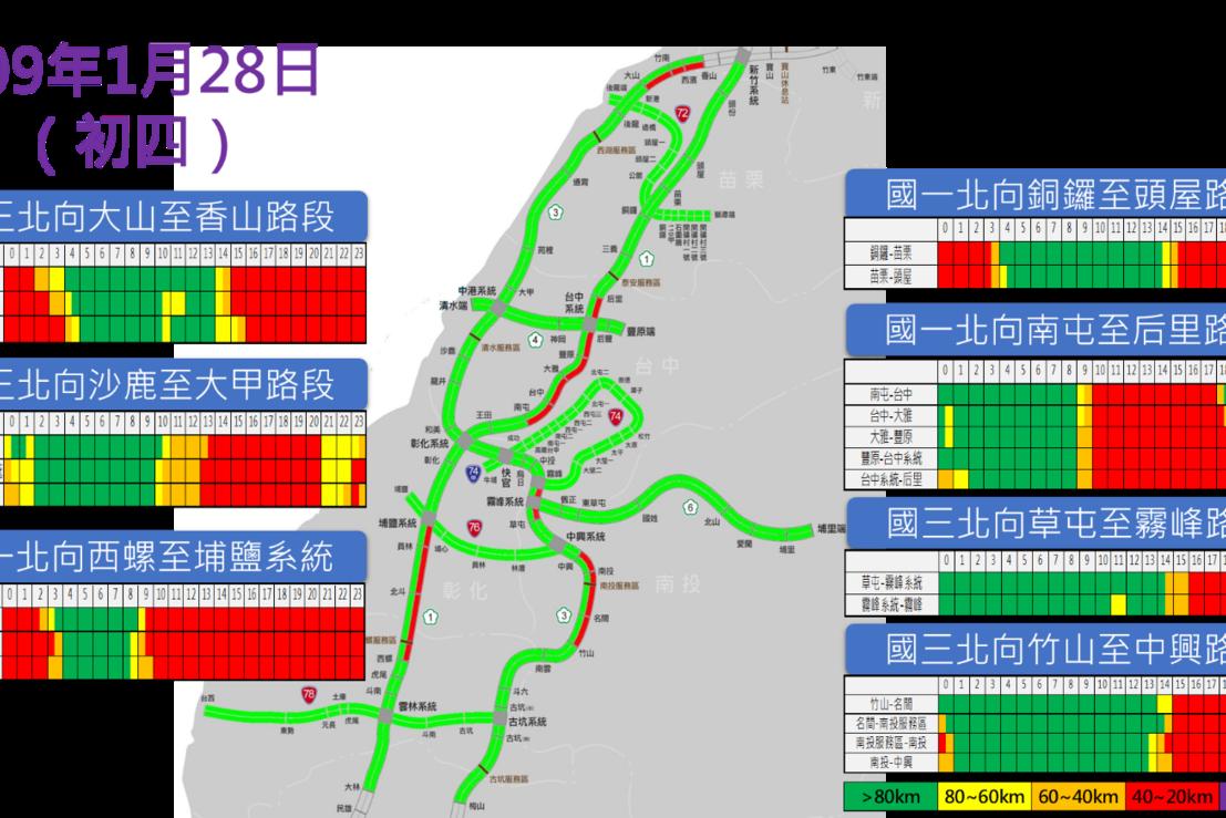 明天國道14大地雷路段曝光 國5恐狂塞16小時