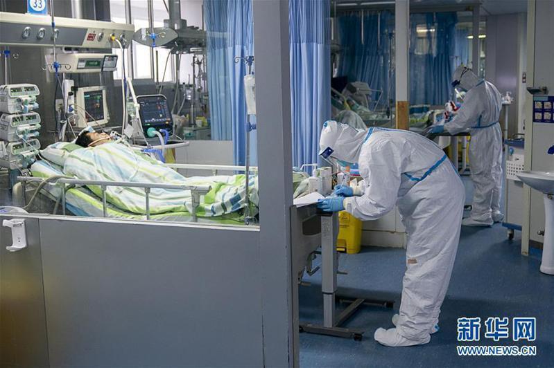 受武漢肺炎疫情影響,大陸A股延至2月3日開市。圖取自新華網