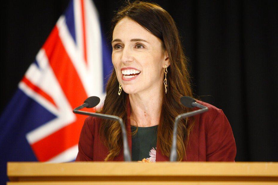 紐西蘭總理阿爾登。 美聯社
