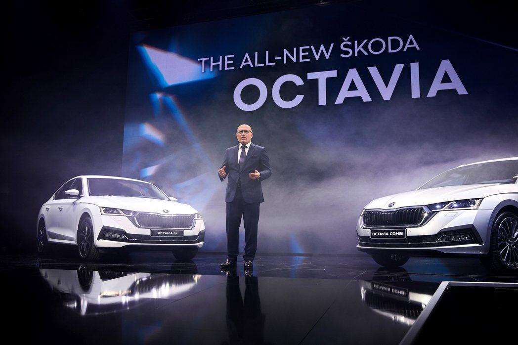 第四代ŠKODA Octavia已於2019年11月12日正式發表。 摘自ŠKO...