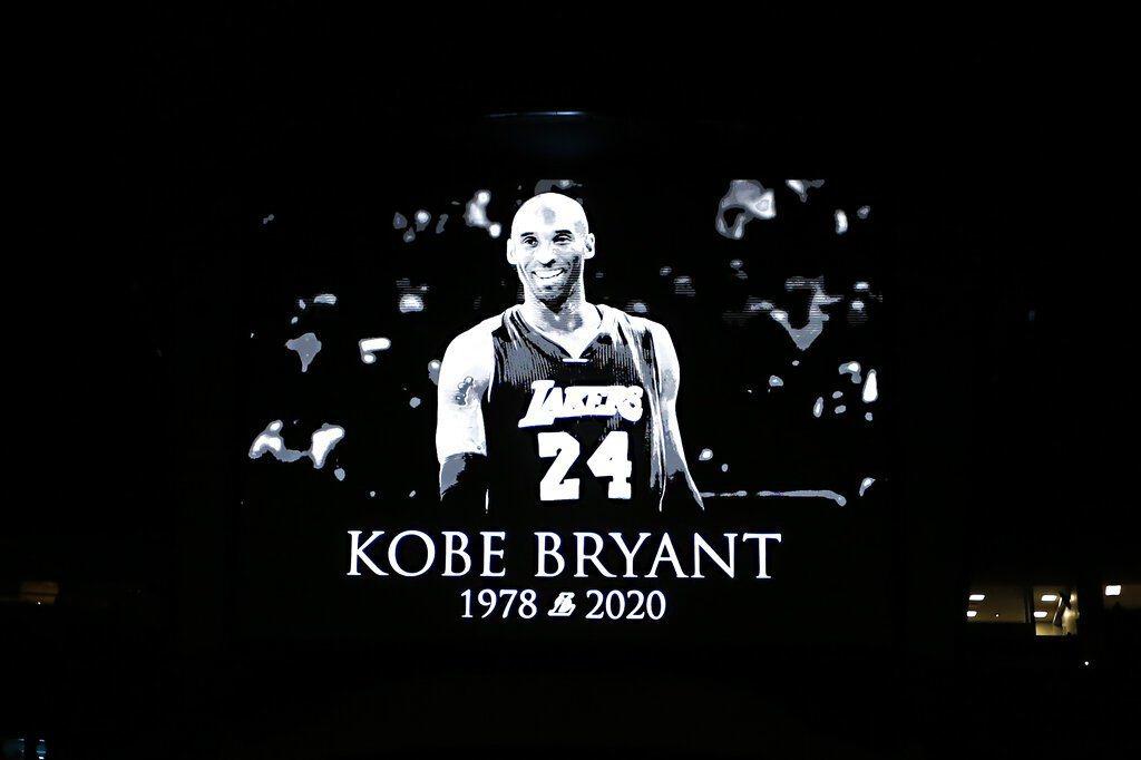 Kobe Bryant美東時間27日墜機身亡,全球球迷獻上哀悼。 圖/美聯社
