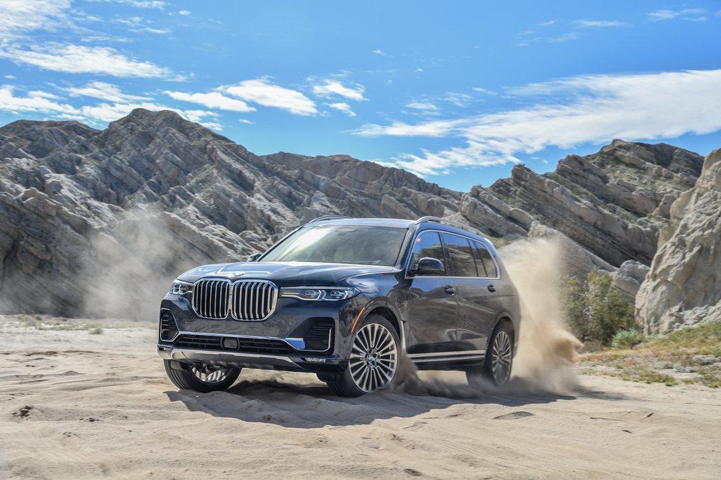 2019為全新BMW X7第一個生產年份,在美國Spartanburg工廠就已達...
